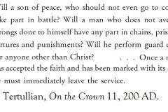 TertullianLeaveArmy